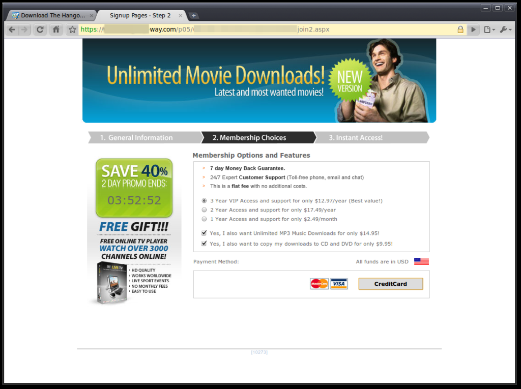 Movie Affiliate Program Fraud Campaign