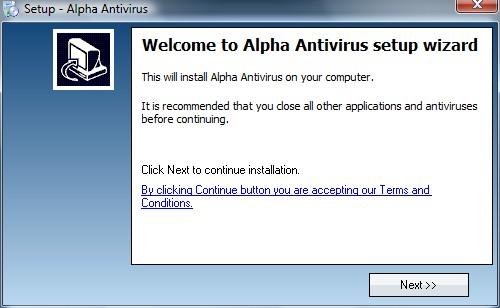 Rogue Anti-Virus: Install 1