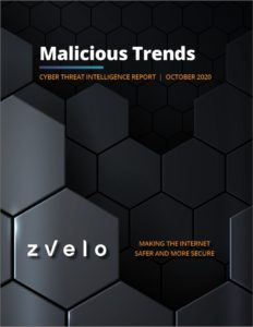 zvelo Cyber Threat Intelligence Malicious Trends Report