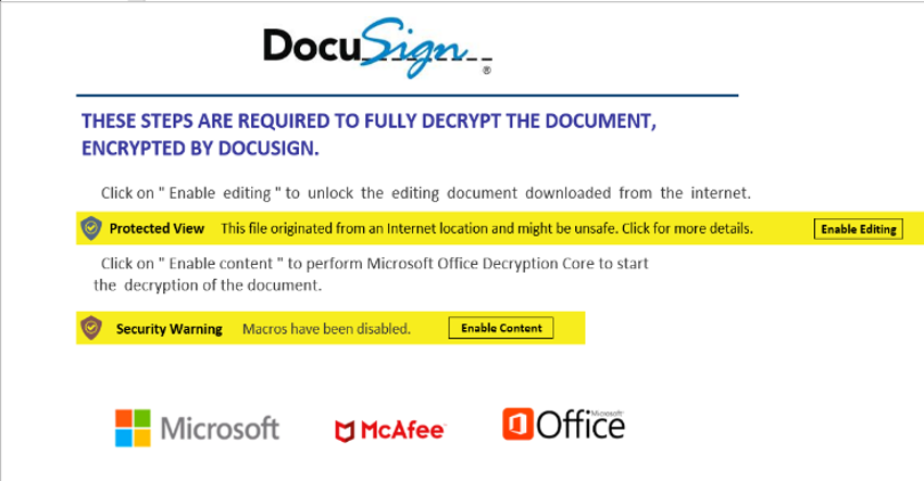 Malicious Office Documents fig. 1